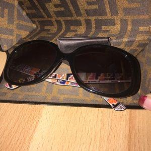 Accessories - FENDI SUN GLASSES WITH CASE.   (100% Authentic)